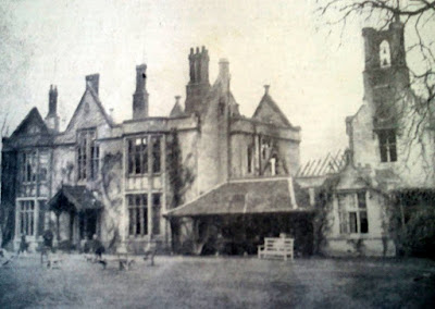 The aftermath of the fire at Little Shelford Hall