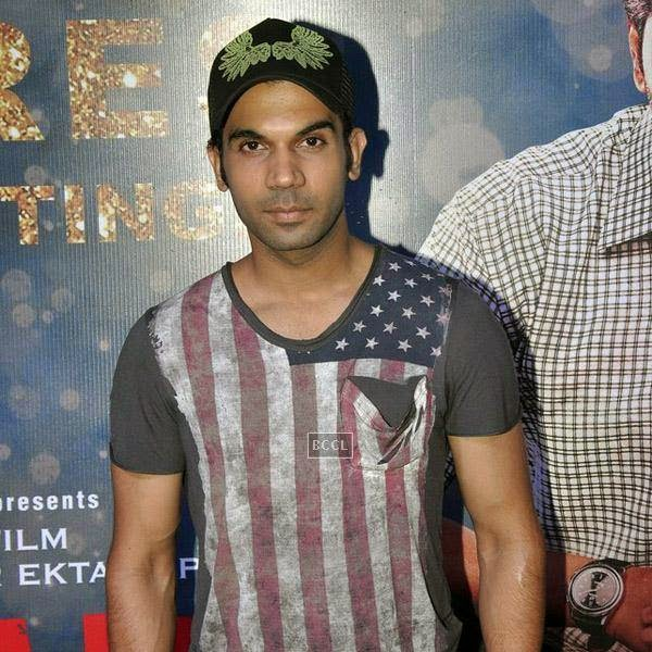Rajkummar Rao during the success party of Bollywood movie 'Ek Villain', held at Ekta Kapoor's residence on July 15, 2014.(Pic: Viral Bhayani)