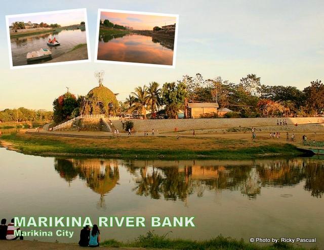 Marikina city noon at ngayon