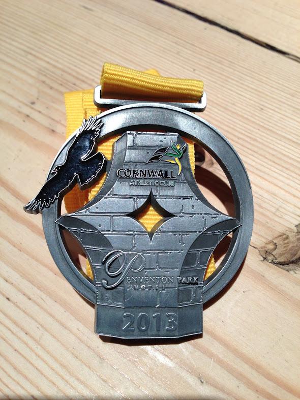 Duchy Marathon 2013 Medal