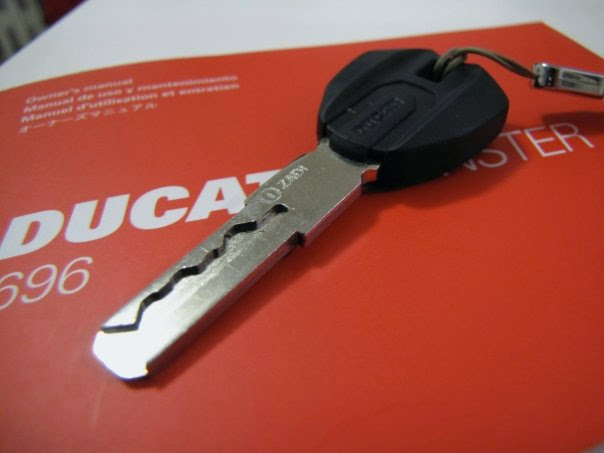 Need to get a new key made for Ducati Monster 696 - Chicago