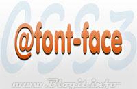 CSS3 @font-face hiển thị font tùy ý trên website
