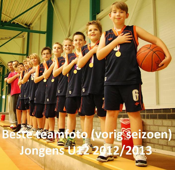 Beste teamfoto seizoen 2012/2013