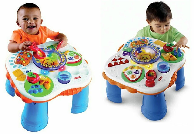 Sản phẩm FP C5522 Chiếc bàn học phát nhạc đặc biệt an toàn dành cho trẻ nhỏ, không góc cạnh