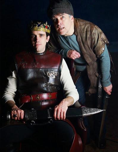 Henry V, Orlando Shakes. John P. Keller as Henry V & Stephen Paul Johnson