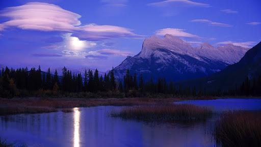 Moonrise over Lake Vermillion, Banff National Park, Alberta.jpg