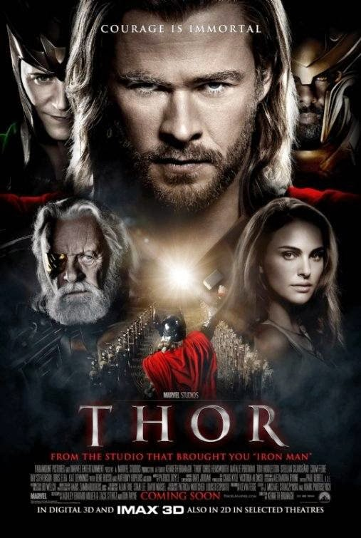 Poster Of Thor (2011) Full Movie Hindi Dubbed Free Download Watch Online At Alldownloads4u.Com