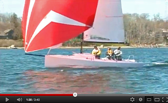 J/70 speedster- music sailing video