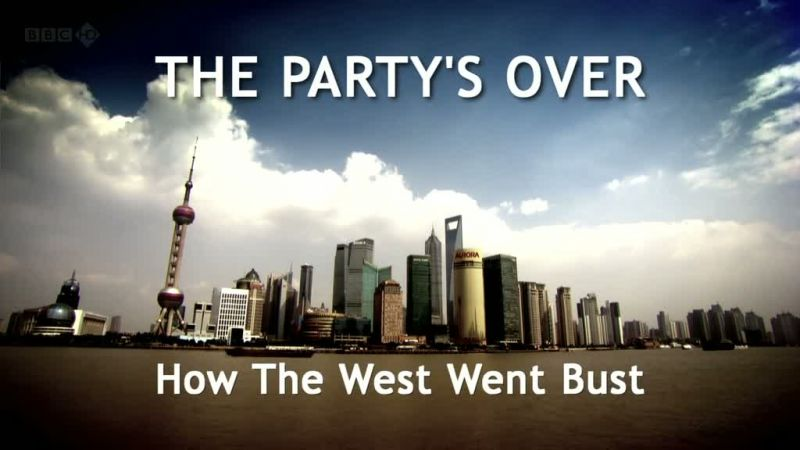 Review: Robert Peston - The Party's Over, How the West Went Bust (image copyright BBC)