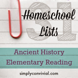 Books to stock the shelves while learning ancient history