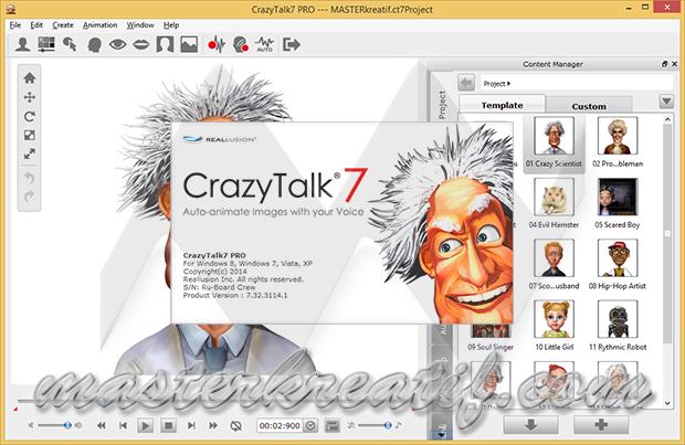 Crazytalk 7 Pro Full Version Masterkreatif