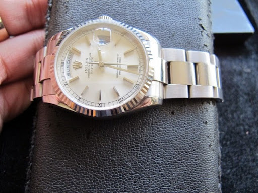 Bán đồng hồ rolex day date – model 118239 – vàng trắng 18k – dây oyster – size 36mm