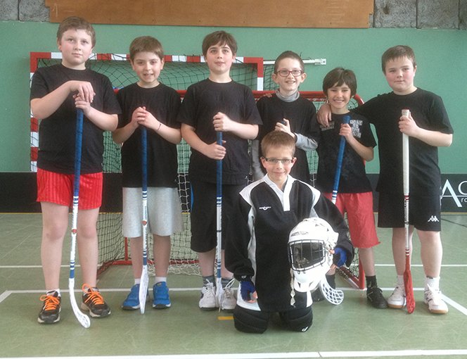 Photo de l'équipe junior Caen Floorball