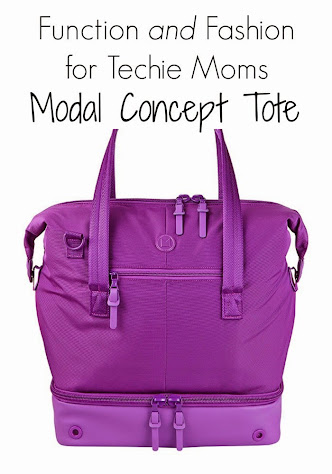 Function & Fashion for the Techie Mom - Modal Concept Tote Bag