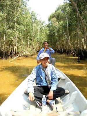 Du lịch bụi An Giang: Du lịch rừng tràm Trà Sư  - 1