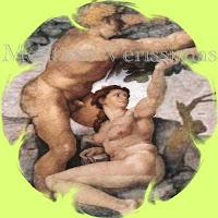 Adão e Eva no Paraíso.