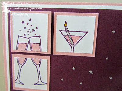 stampin up, prosit, making spirits bright, birthday card, geburtstagskarte
