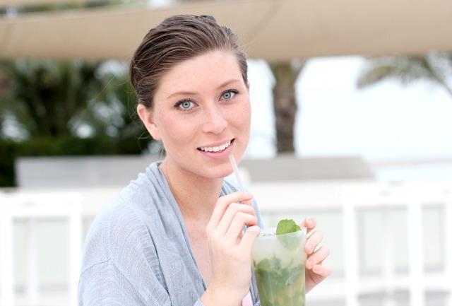 Drinks at Nasimi Beach