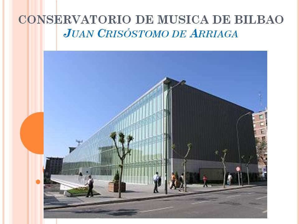 Proceso de dise o de un centro educativo escuela - Conservatorio musica bilbao ...