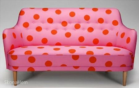 inspiração sofá de bolinha