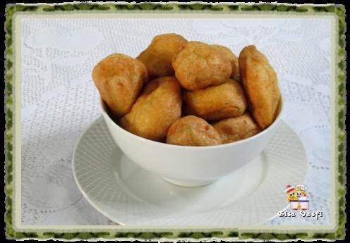 Bolinhos fritos de chuchu