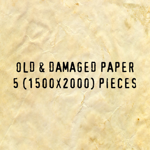 Custom Made Old Paper