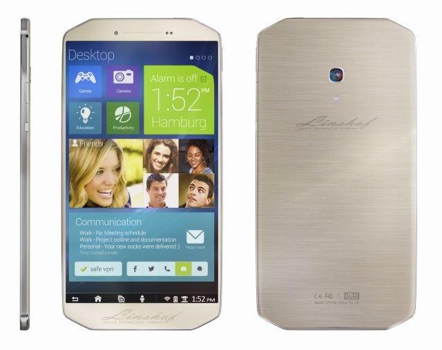 Linshof i8, smartphone tám lõi, dung lượng lưu trữ 80GB, giá 380 USD