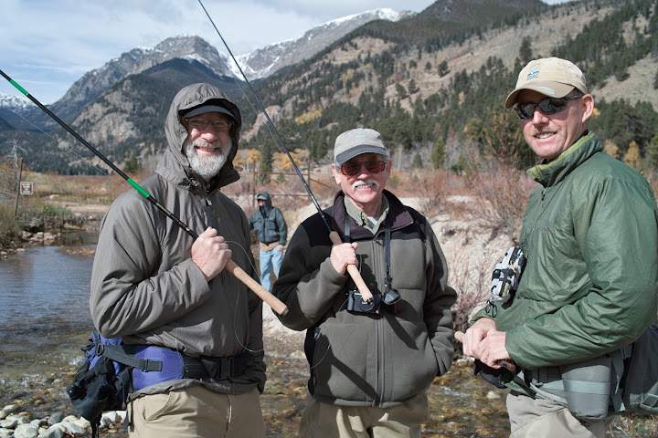 Tenkara anglers in Colorado