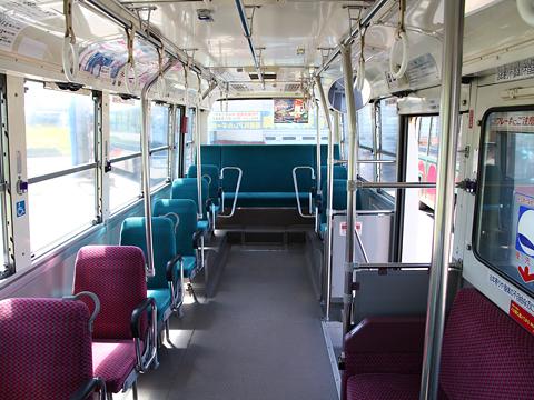 沿岸バス「萌えっ子バイオディーゼルバス」 ・669 車内
