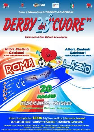 23esima edizione del Derby del Cuore