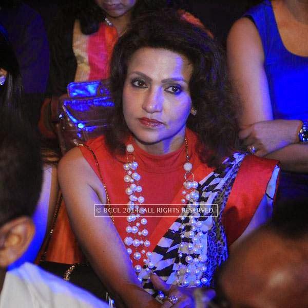 Vandy Mehra at Gaurav Gupta's show, held in Delhi.