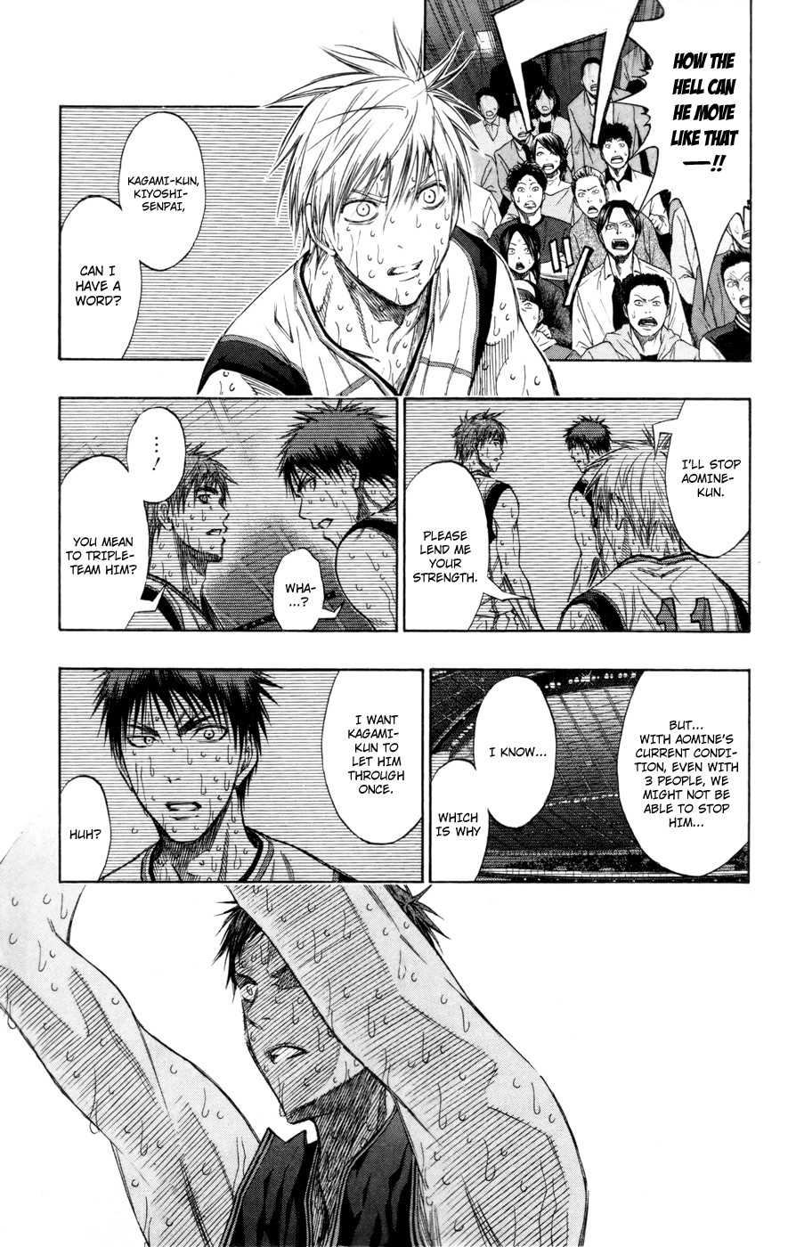 Kuroko no Basket Manga Chapter 132 - Image 06