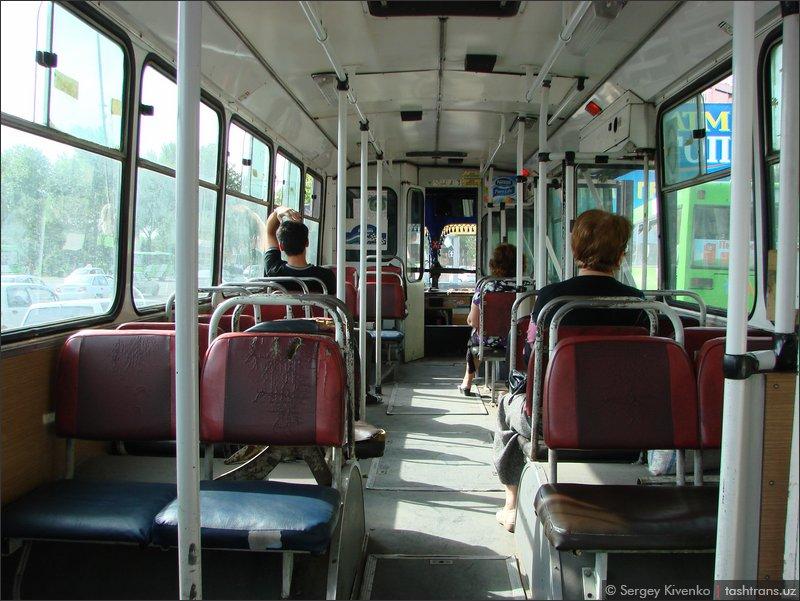 Салон троллейбуса 3059