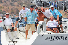 J/109 winners on Linstar off Newport Beach, CA