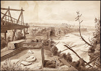 Falls of the Chaudiere. 1826