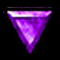 完美的紫寶石