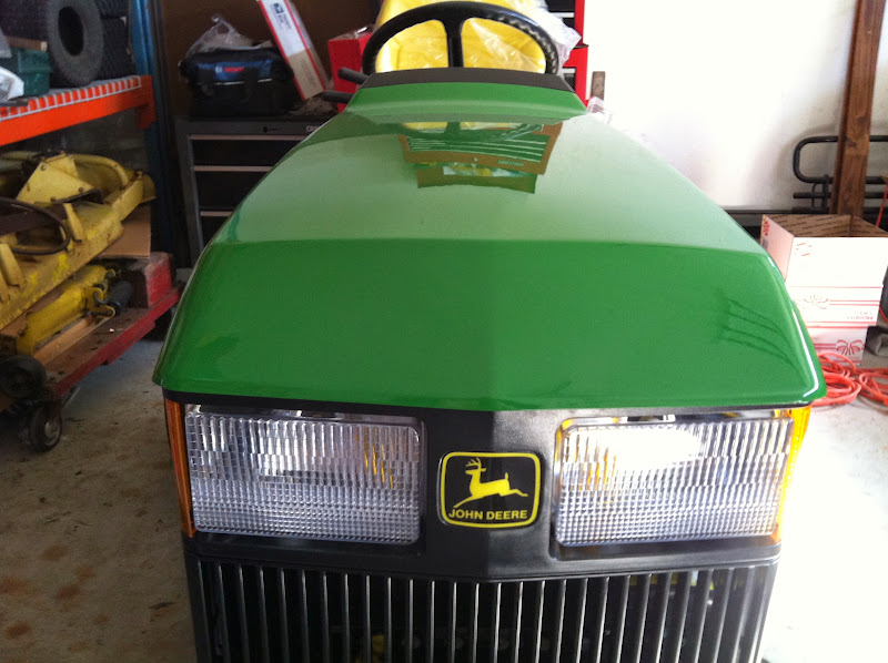 John Deere Front Hood : New project  aws page mytractorforum
