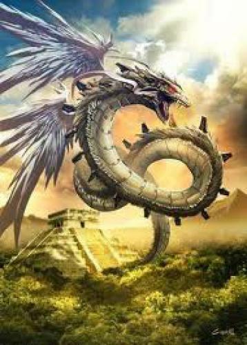 Quetzalcatl La Serpiente Emplumada