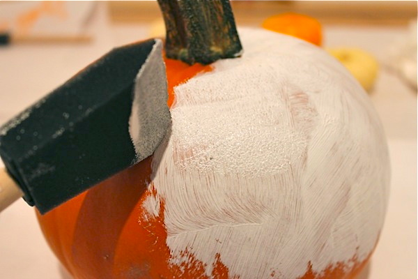 step two modern pumpkins autumn project party with rub on decals ala lotta jansdotter