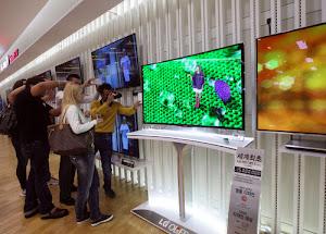 LG độc chiếm thị trường TV OLED