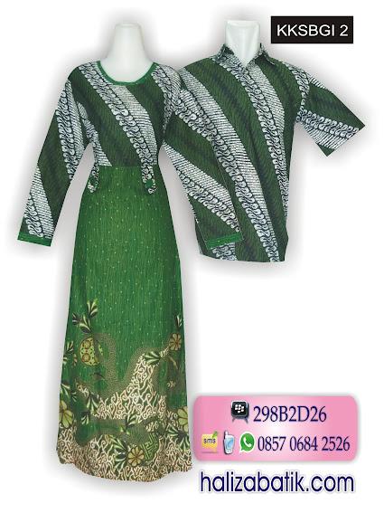 Batik  Muslim, Busana Batik Modern, Baju Batik Terbaru