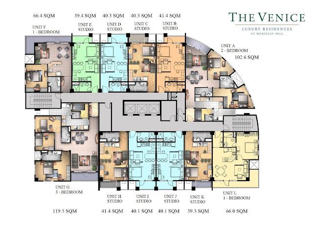 venice floor plan sulit