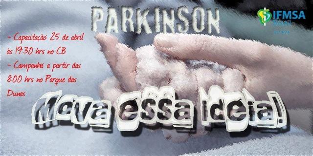 """Curso de Medicina da UFRN promove em Natal a campanha """"Parkinson: mova essa Idéia!"""" neste sábado (27)"""