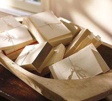 deconstructed paper back books twine bows