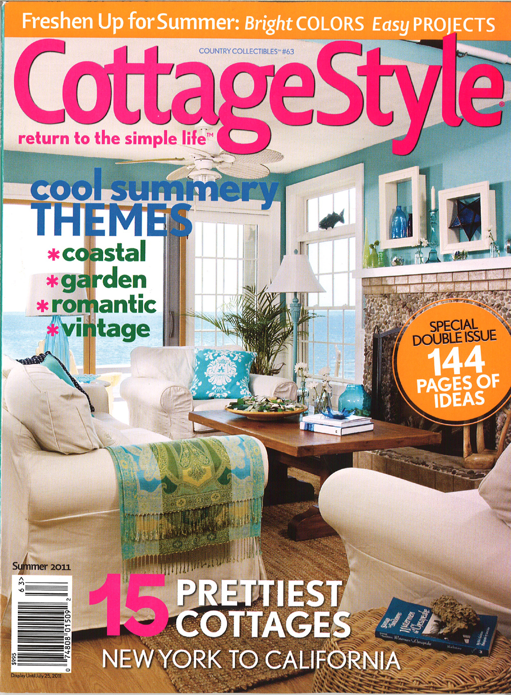 Home and cottage magazine as featured in cottage magazine Home and cottage magazine