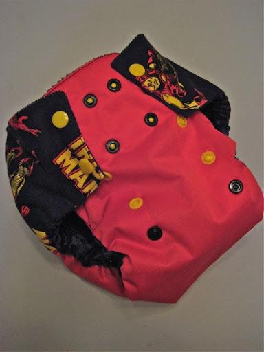Ironman Bumwrap OS diaper