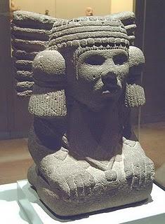 Chalchiuhtlicue Aztec Goddess Of Water Image