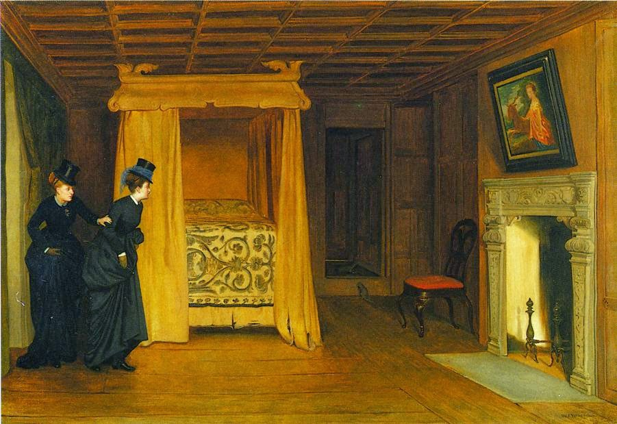 William Frederick Yeames - A Visit to the Haunted Chamber