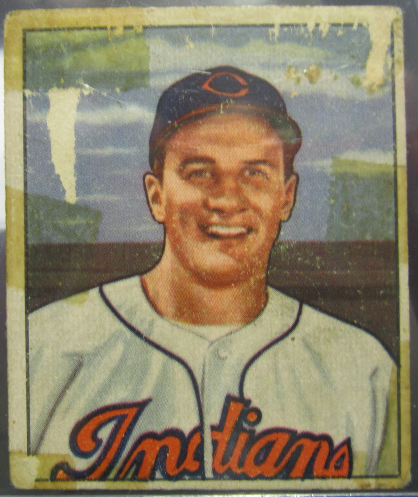 Plaschke, Thy Sweater Is Argyle: 1950 Bowman Al Rosen