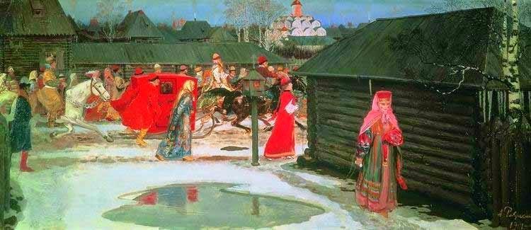 Полотна Рябушкина